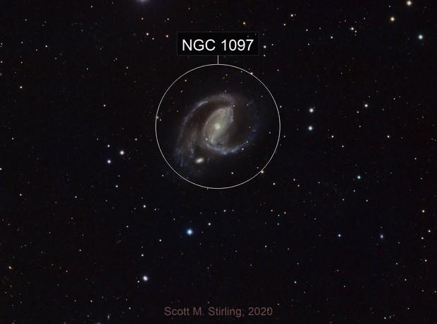 NGC 1097 galaxy