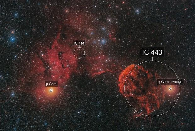 IC443 Jellyfish Nebula