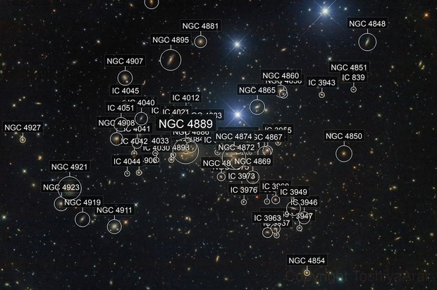 Abell 1656 the Coma cluster