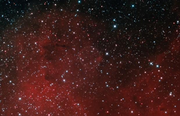 PN G75.5+1.7 Soap Bubble Nebula