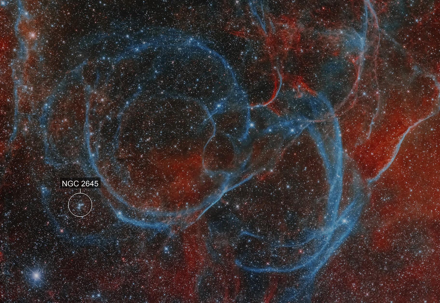 Vela SNR closeup
