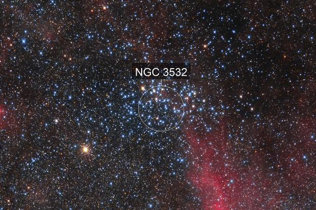 NGC 3532 Football Cluster