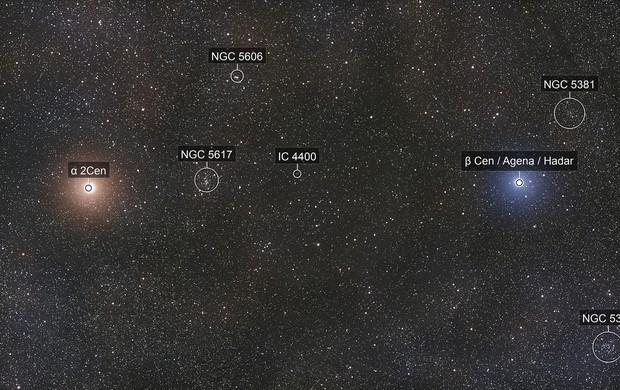 Alpha & Beta Centauri : The Southern Pointer Stars