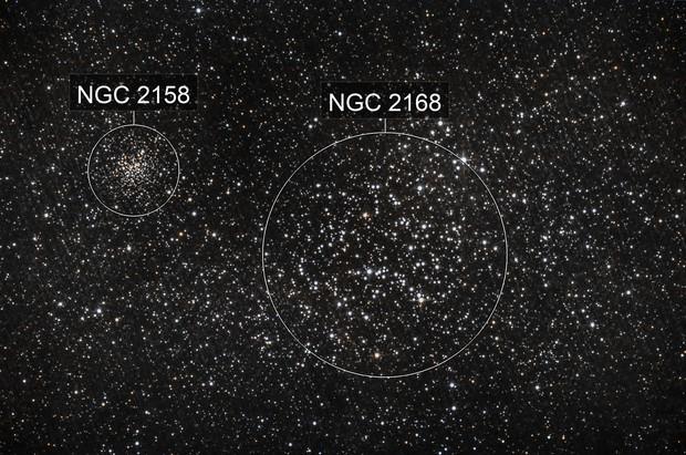 M 35 andNGC 2158