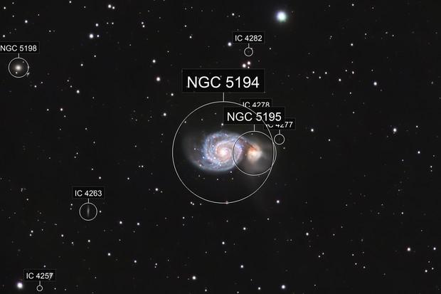 M51 - LRGB