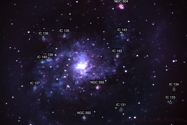 M33- Triangulum Galaxy (Pinwheel Galaxy)