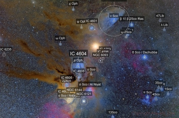 Mars meets Antares in the cloud
