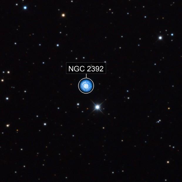 NGC2392 The Eskimo