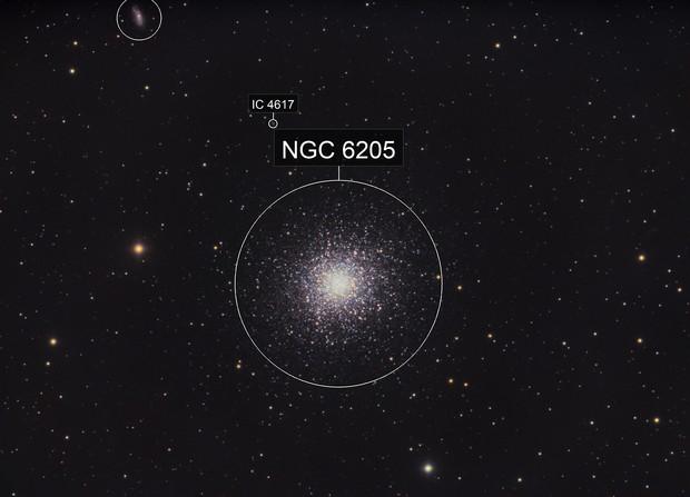 Hercules Globular Cluster (M13,  NGC 6205)