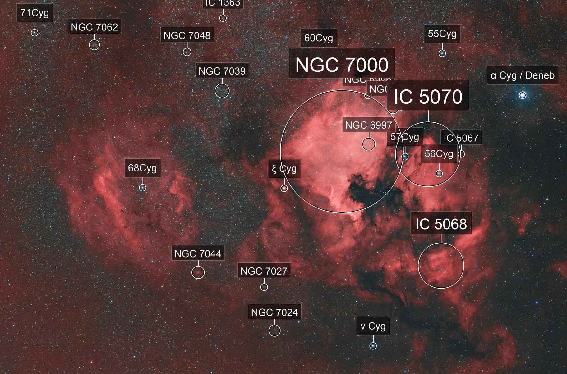 Sh2-119 & NGC 7000