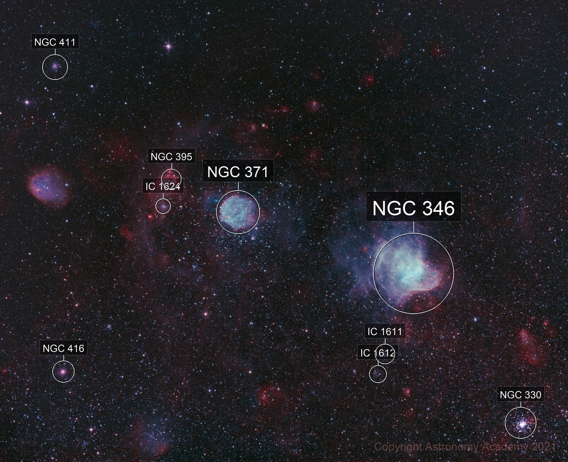NGC 346 - Secret Garden of Gas and Dust