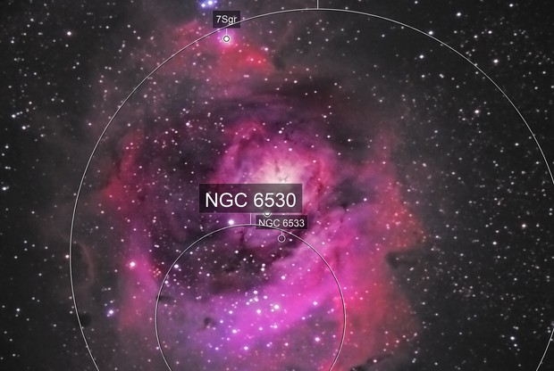 M-8 Lagoon Nebula