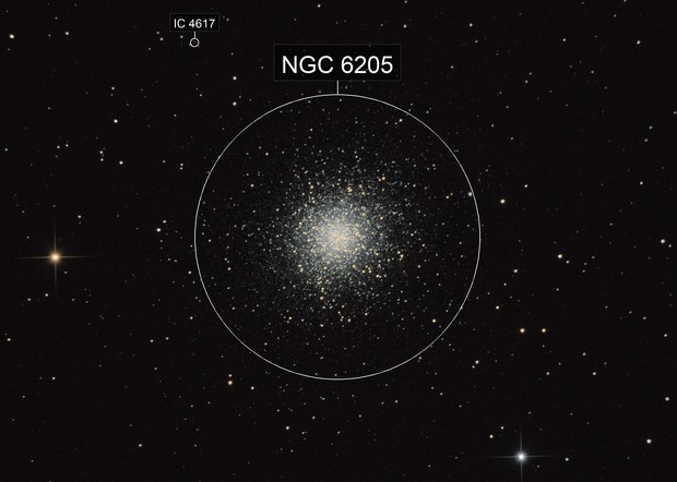 M13 (EQ3-2, not guiding, 128x15 sec)