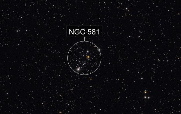 M103 (EQ3-2, not guiding, 222x15 sec)