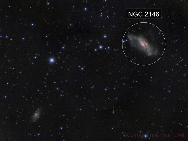 NGC2146 and Friend