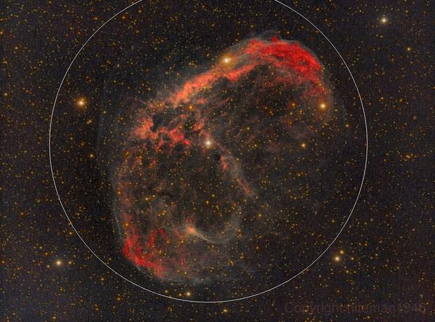 NGC6888 Crescent Nebula (Van Gogh's Ear)