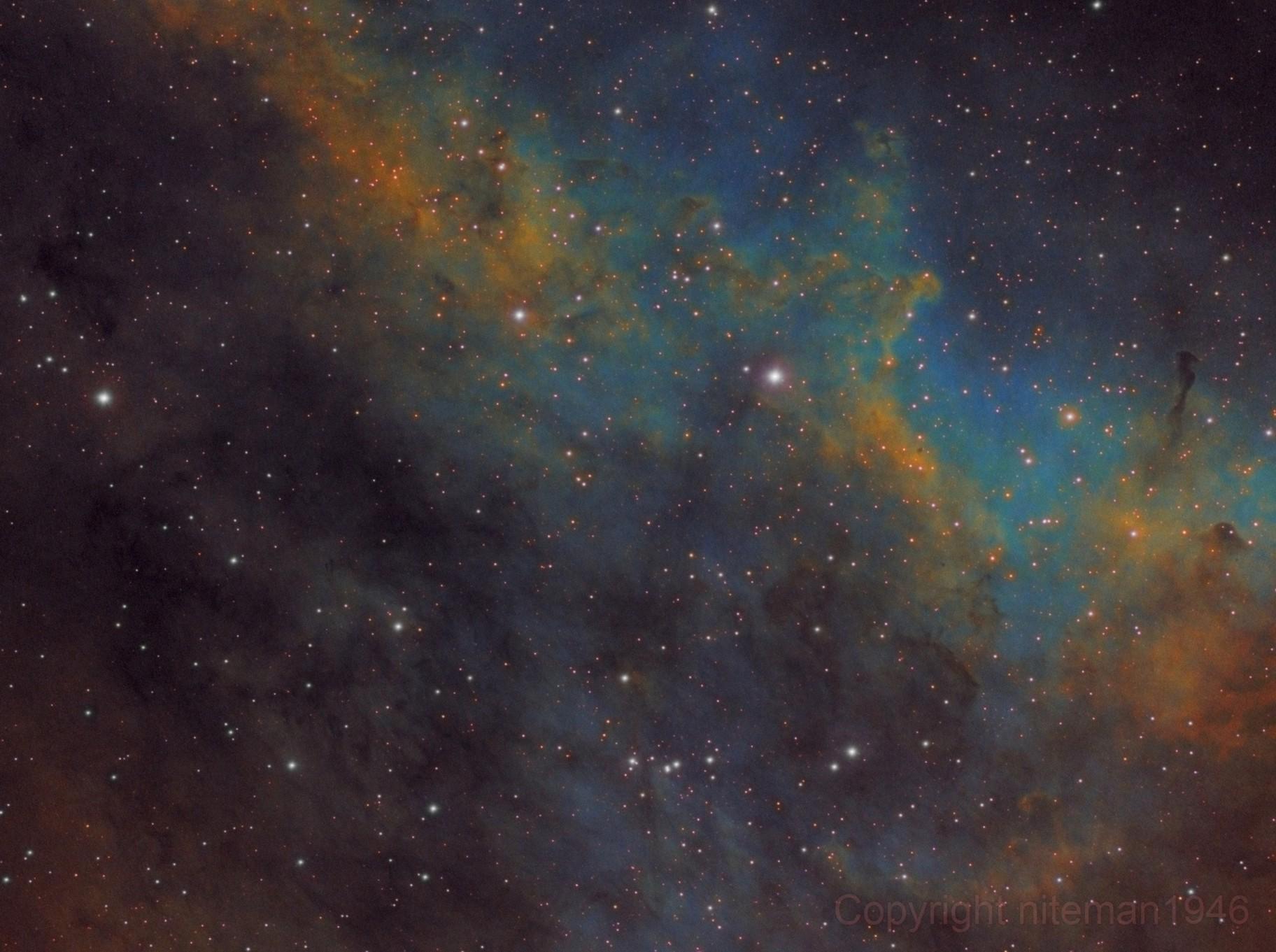 IC1318 The Butterfly Nebula