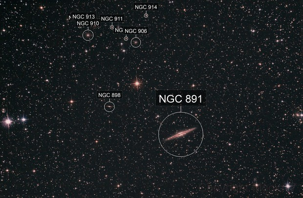 Ngc891, Abell347 and more