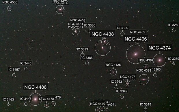 M86 - Virgo Cluster of galaxies (15 Mar 2020) - EAA