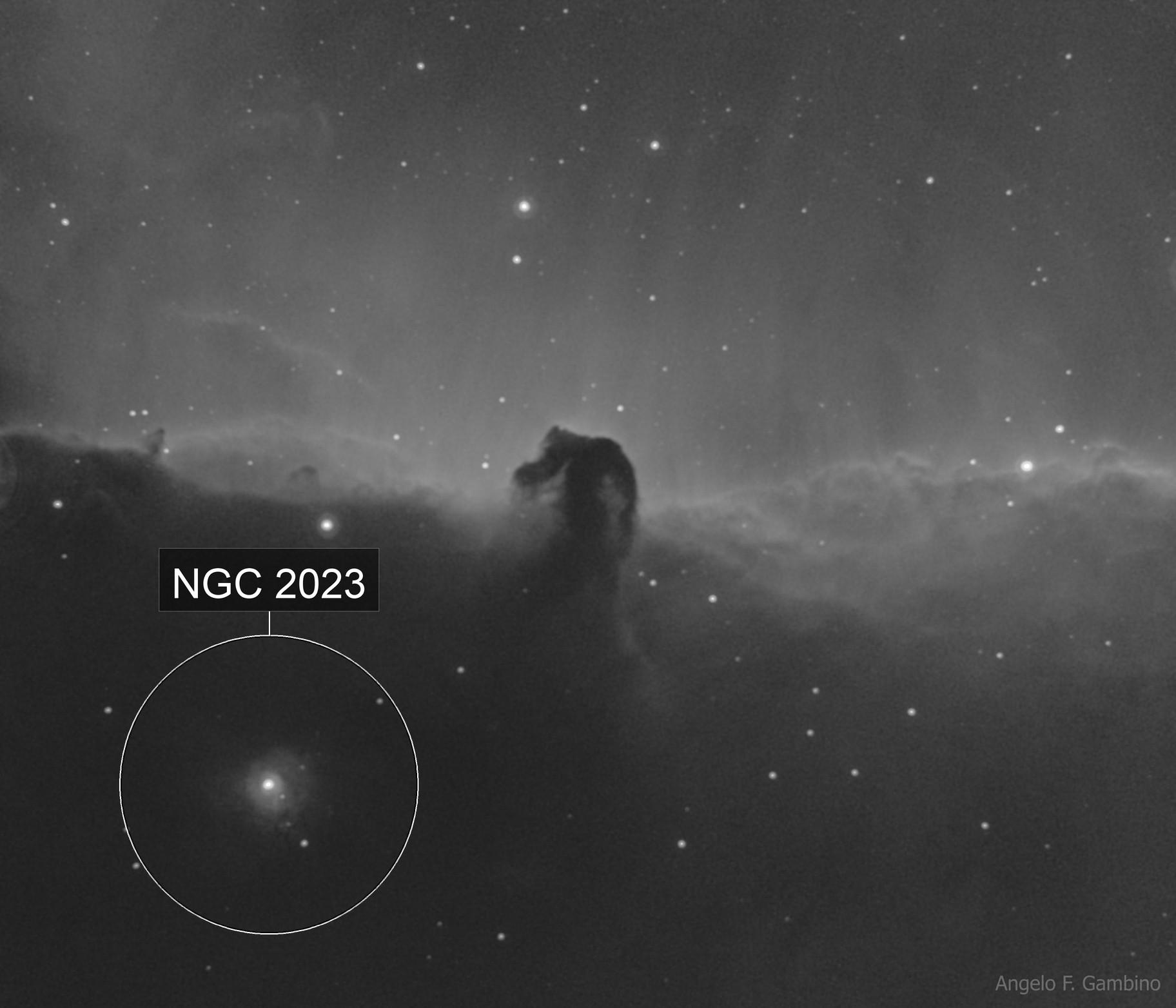 The Horsehead Nebula B33