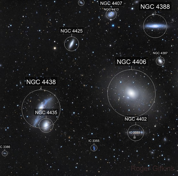 The start of Markarian's chain