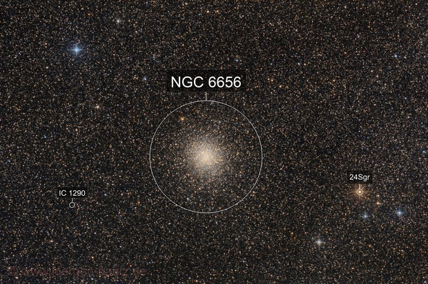 Messier 22 - The huge Sagittarius cluster