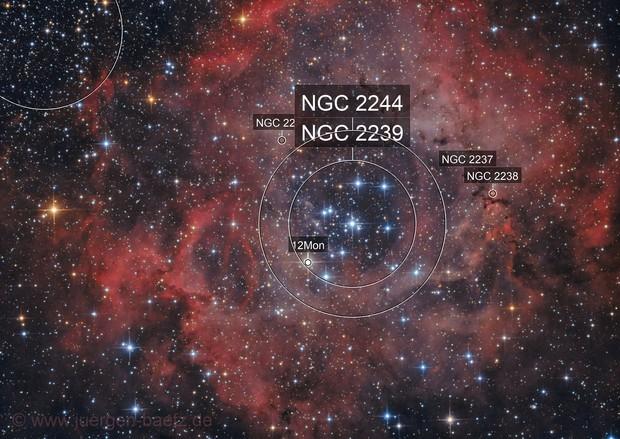 Rosetta Nebula NGC 2244