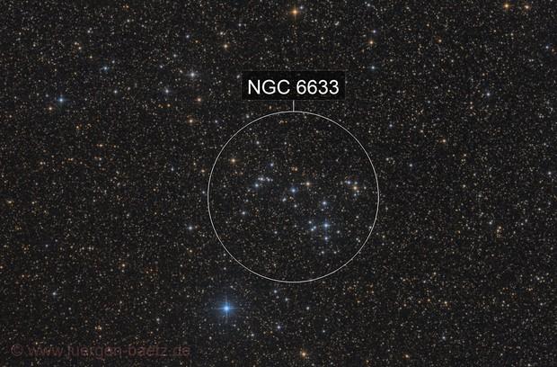 Open cluster NGC 6633