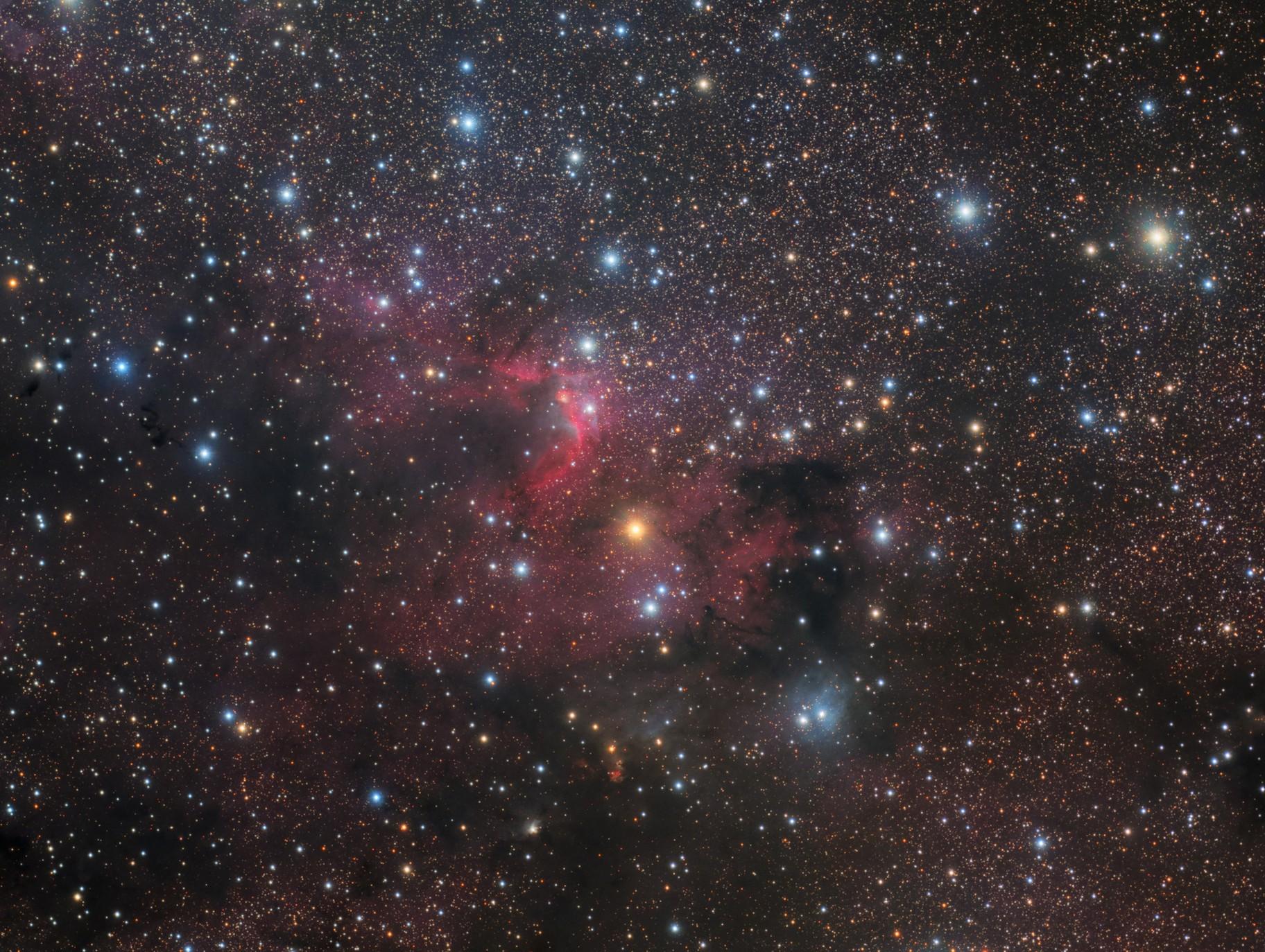 Sh2-155~Cave Nebula