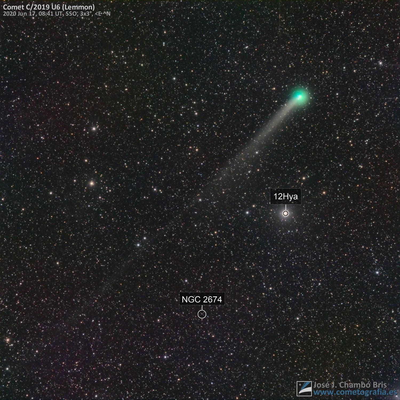 Comet C/2019 U6 Lemmon