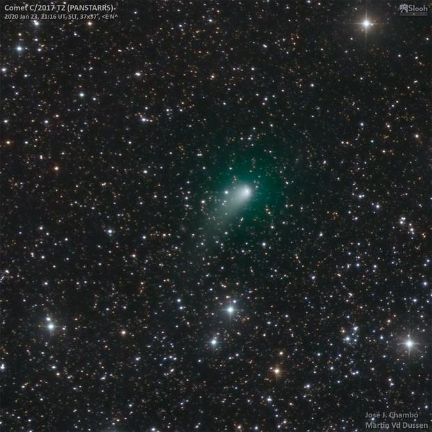 Comet C/2017 T2 PANSTARRS