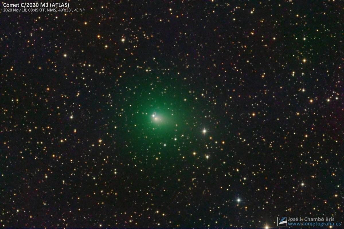 Cometa C/2020 M3 ATLAS