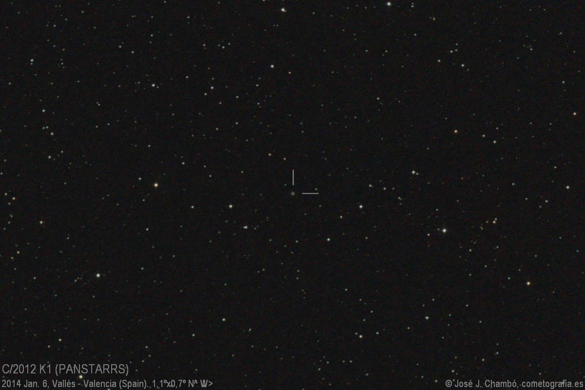 C/2012 K1 PANSTARRS (Jan.6,2014)