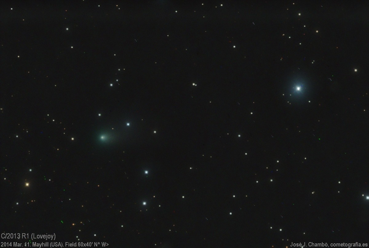Comet C/2013 R1 Lovejoy (Mar.11)