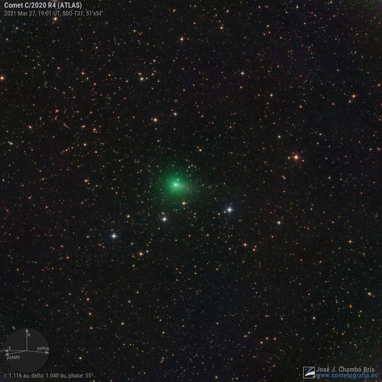 Comet C/2020 R4 ATLAS