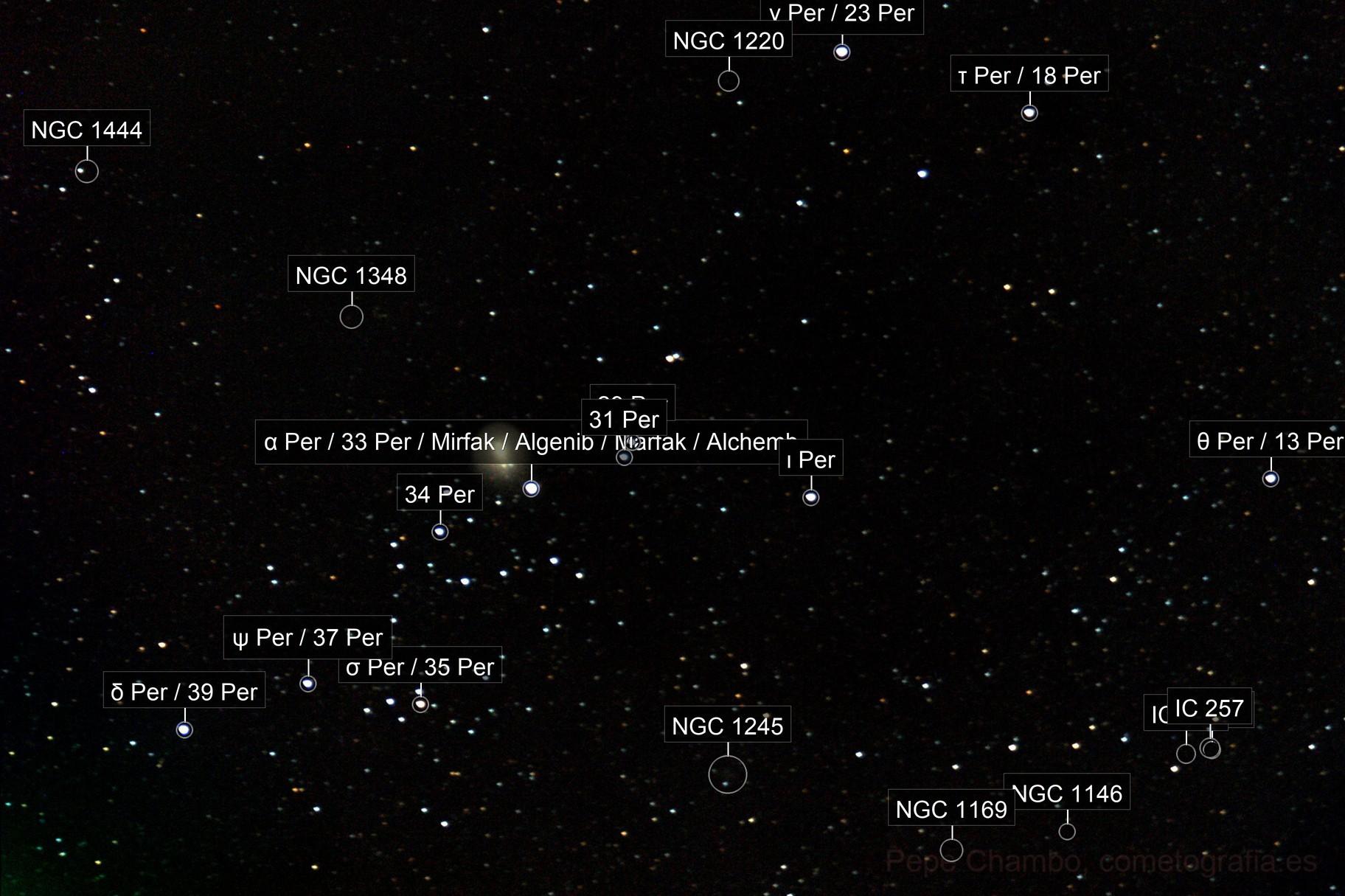 Comet 17P/Holmes, 2007 November 17th