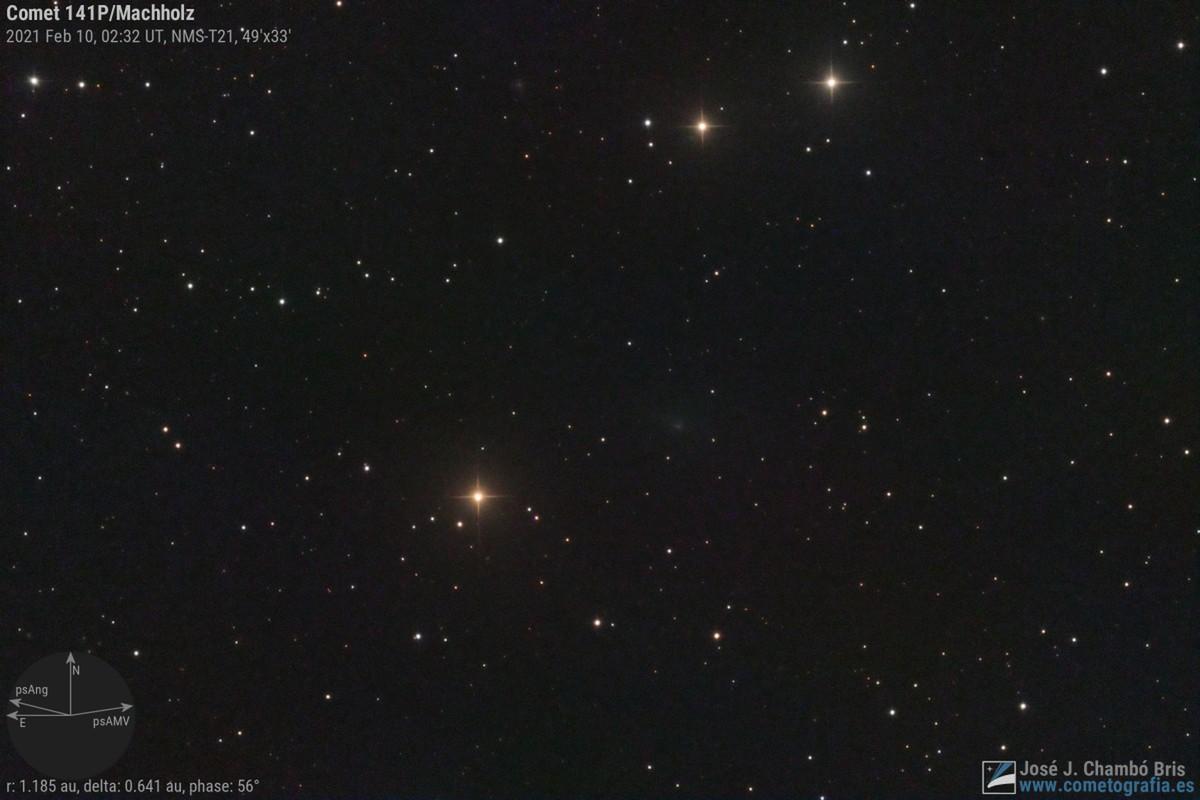 Comet 141P/Machholz