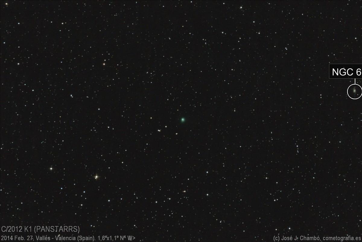 C/2012 K1 PANSTARRS (Feb.27,2014)
