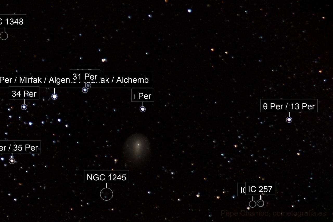 Comet 17P/Holmes, 2007 December 2nd