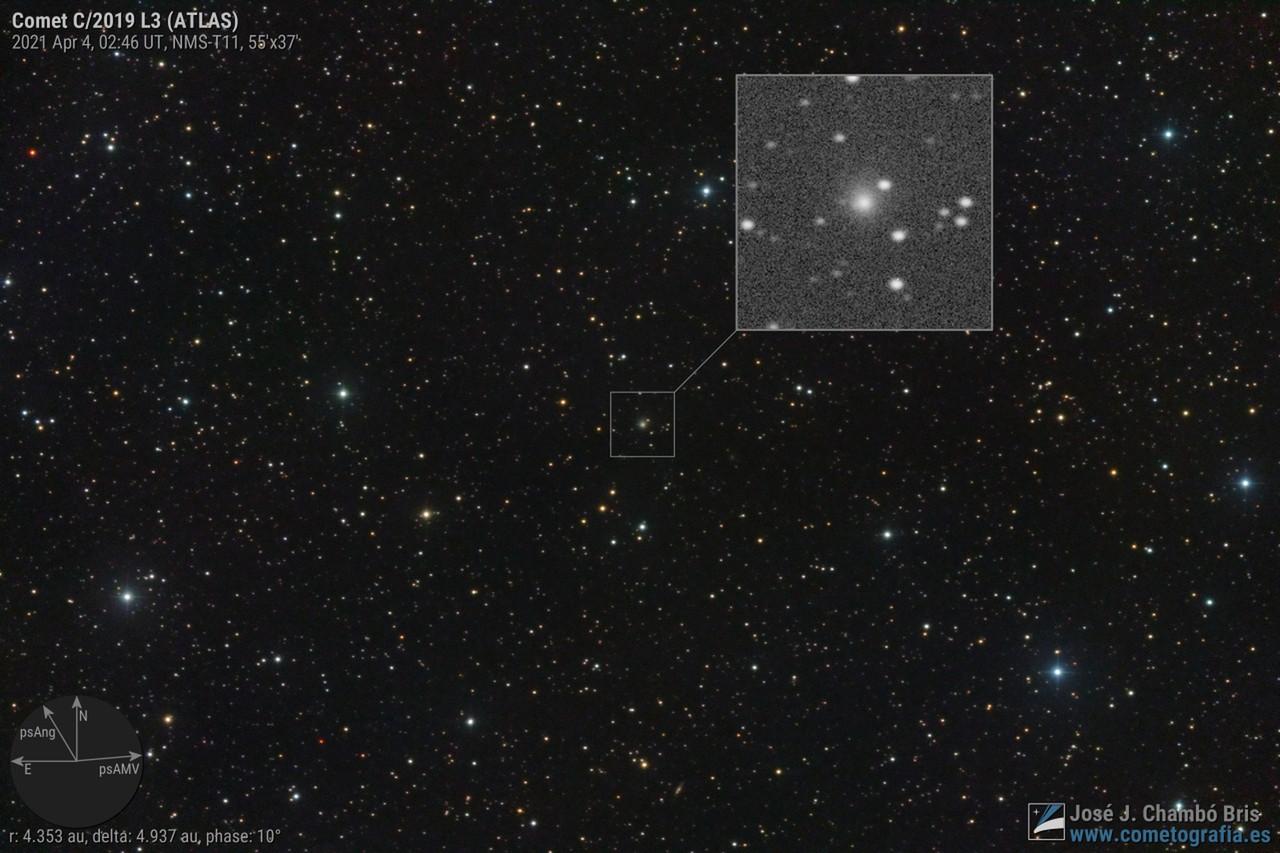 Comet C/2019 L3 ATLAS