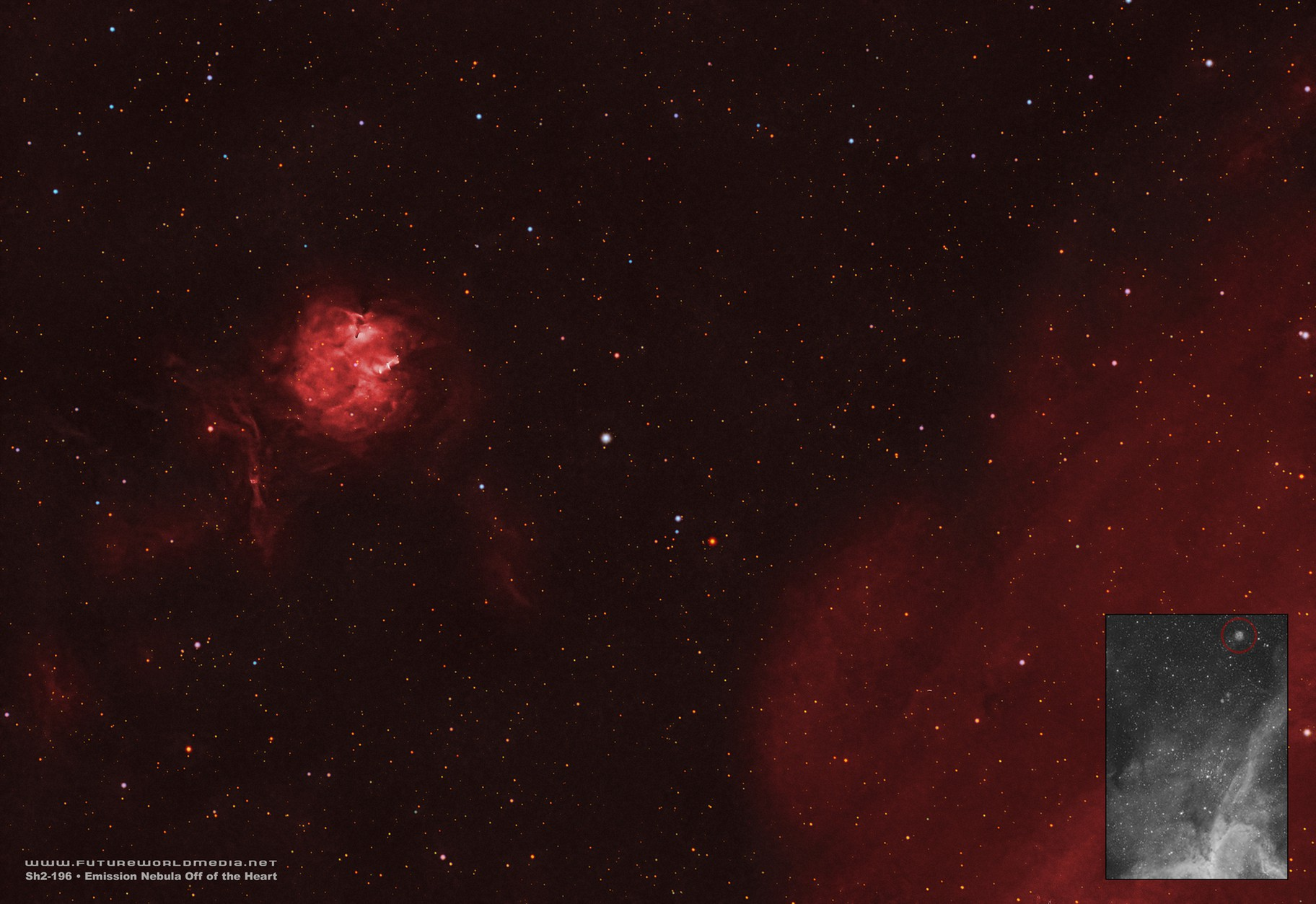 Sh2-196 • A Tale of a Sharpless Off of a Tail