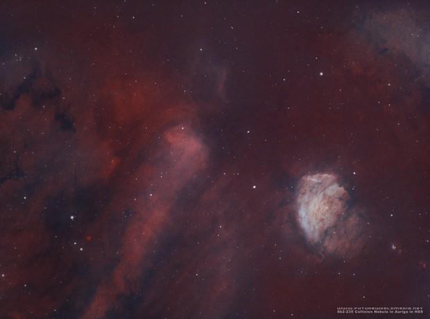 Sh2-235 • Rare Collision Nebula in HSS