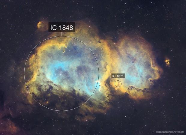 The Soul Nebula (Westerhout 5) in SHO