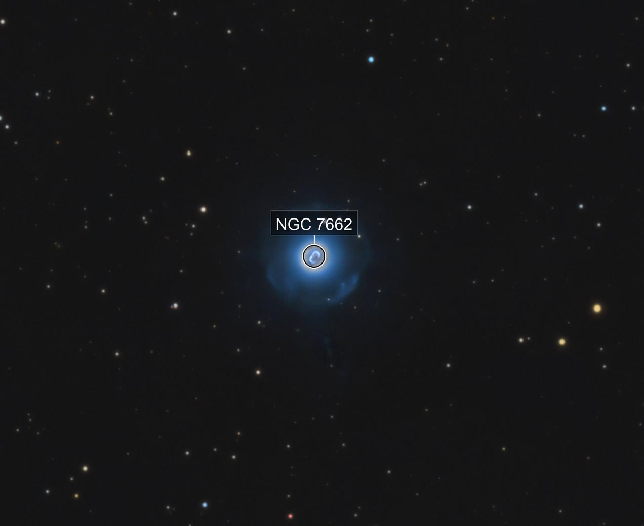 NGC 7662 • Blue Snowball Planetary Nebula