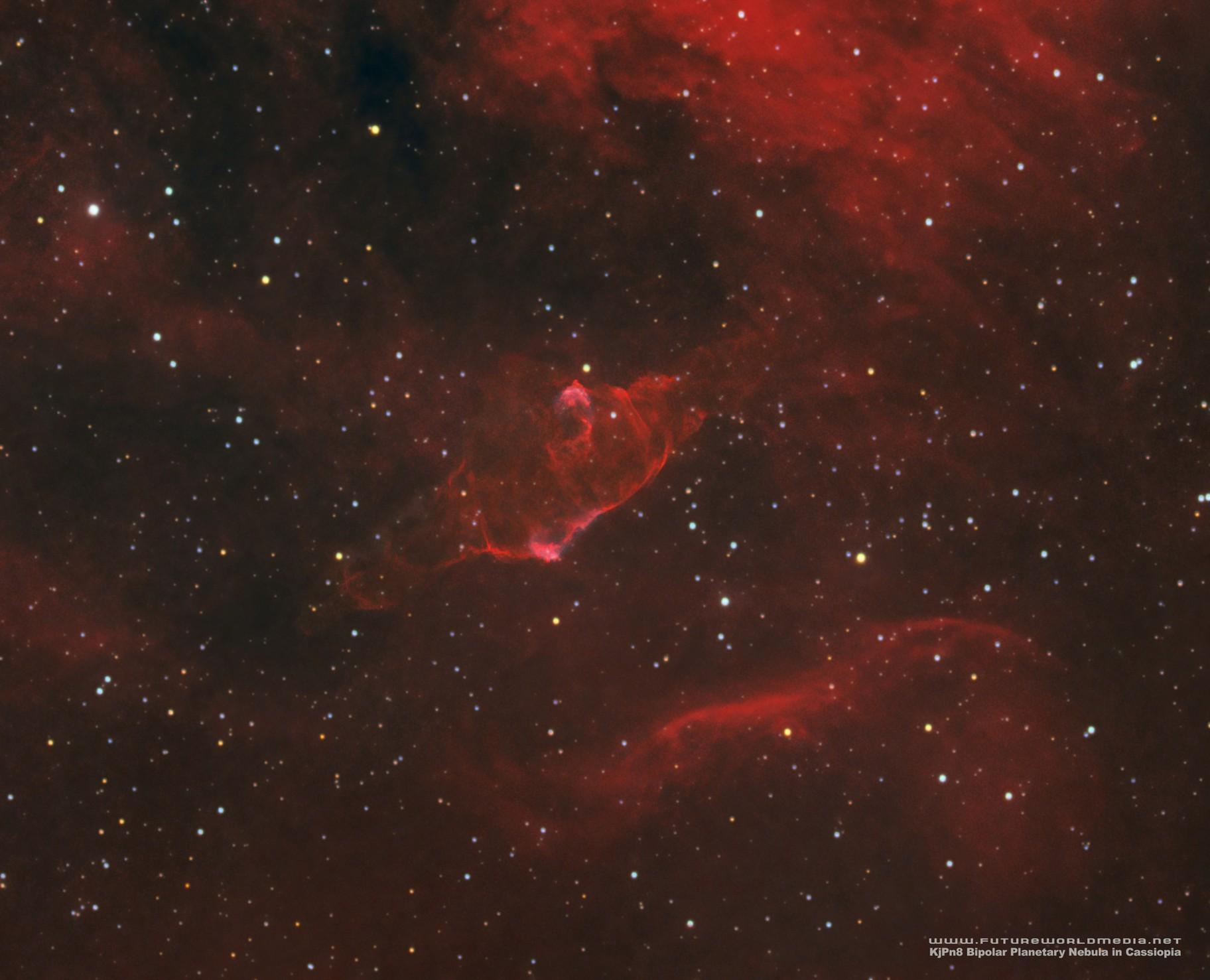 KjPn8 Bipolar Planetary Nebula (PN G112.5-00.1)