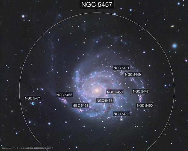 M101 Pinwheel Galaxy in HaLRGB (White Zone)