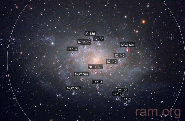 Triangulum galaxy M33/NGC598 (c-lrgbhos)