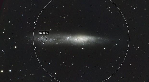 NGC 55 Irregular Galaxy in Sculptor