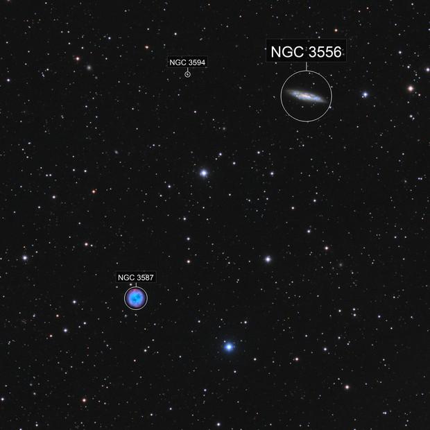 M97 & M108 HaO3LRGB