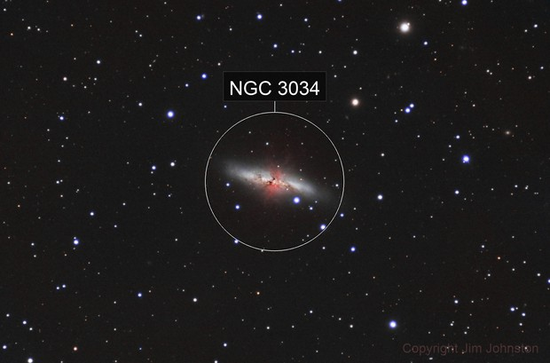 M82 in HaLRGB